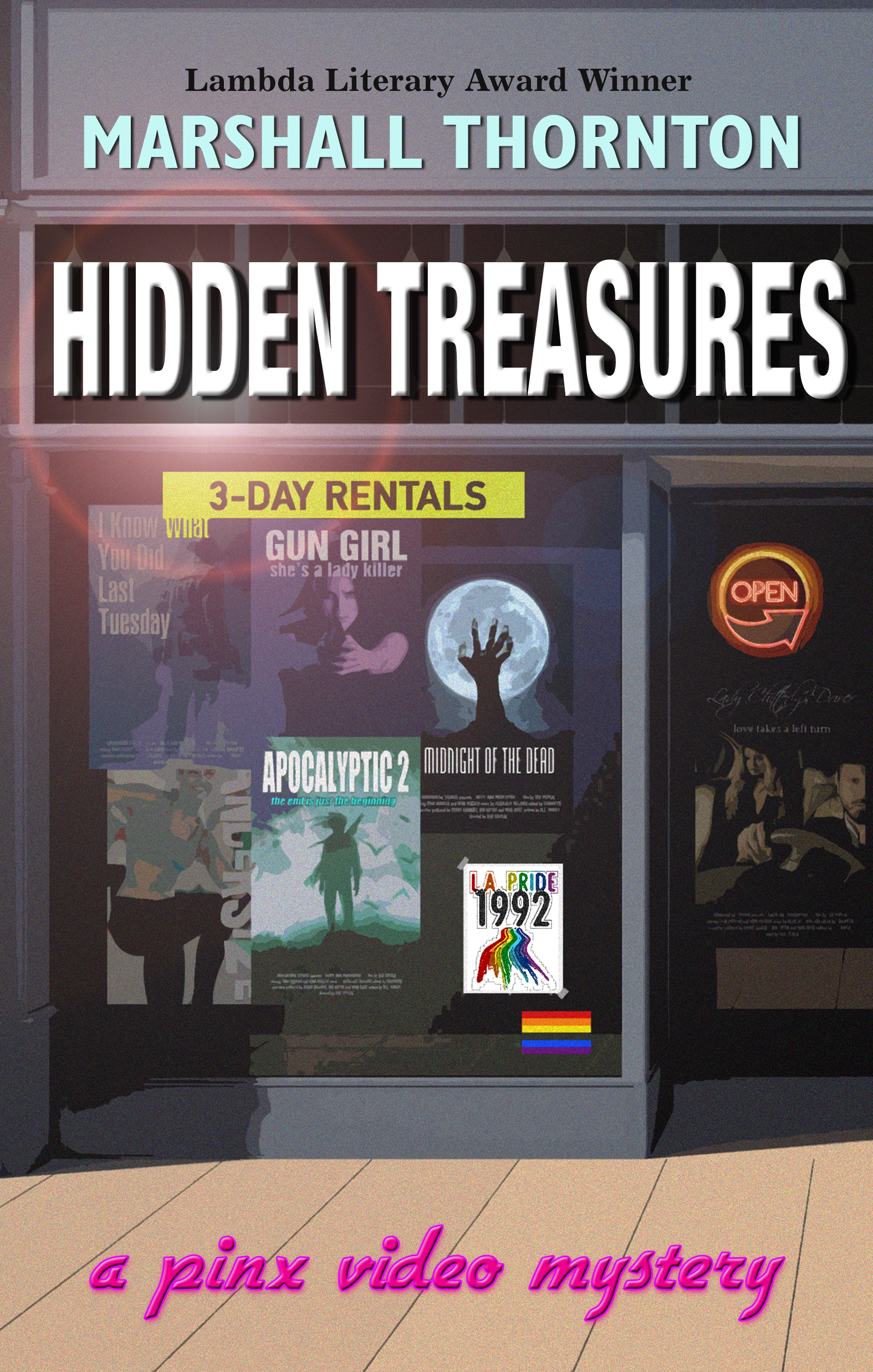 The reviews are coming in for Hidden Treasures A Pinx Video Mystery! |  Marshall Thornton